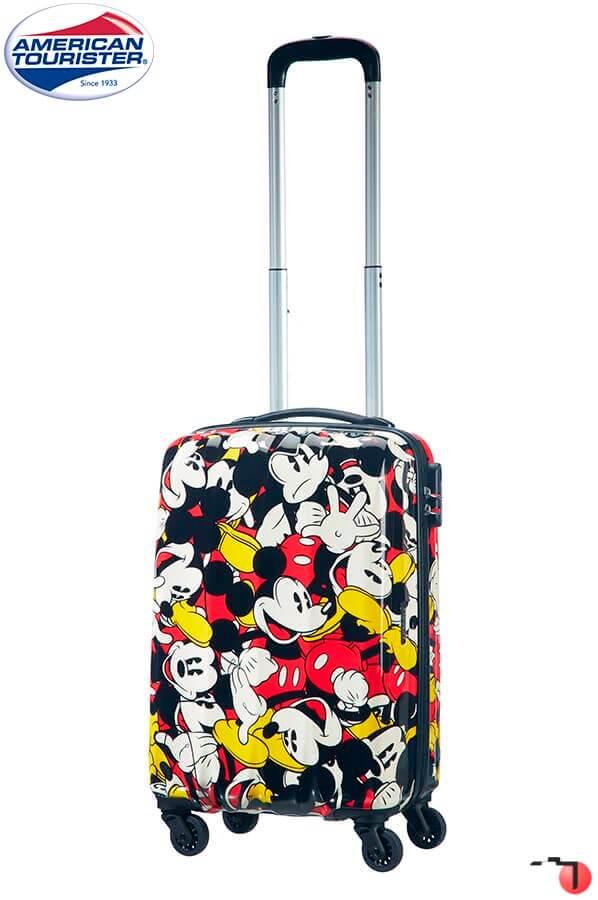 Trolley de Viagem Cabine com 4 rodas Spinner 55 cm Mickey Comics Alfawist  2.0 Disney American ... 563803e08a